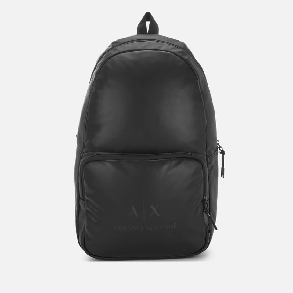 Armani Exchange Men's PU Rucksack - Black